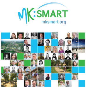 MK:Smart is a collaboration between fourteen academic and business organisations to find answers to the key challenges facing Milton Keynes.